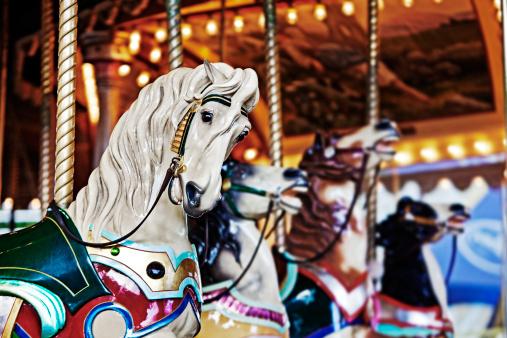 Carousel Horses「Carousel, Luna Park, Melbourne」:スマホ壁紙(11)