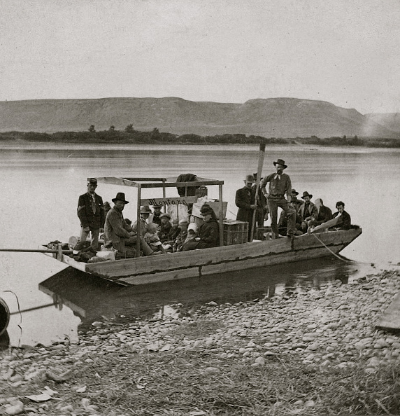 Passenger Craft「The Mackinaw Montana, Leaving Benton」:写真・画像(13)[壁紙.com]