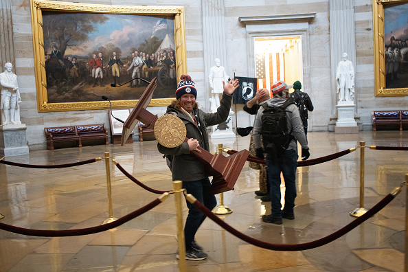Riot「Congress Holds Joint Session To Ratify 2020 Presidential Election」:写真・画像(5)[壁紙.com]