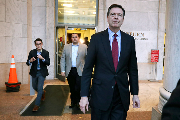 Chip Somodevilla「Former FBI Director James Comey Testifies Before House Judiciary Committee」:写真・画像(1)[壁紙.com]