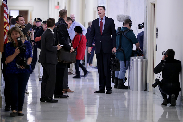 Chip Somodevilla「Former FBI Director James Comey Testifies Before House Judiciary Committee」:写真・画像(6)[壁紙.com]