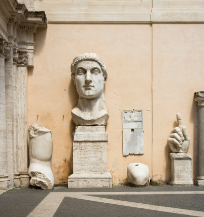 Human Hand「Parts of the Constantine statue, Capitoline Museum, Italy」:スマホ壁紙(14)