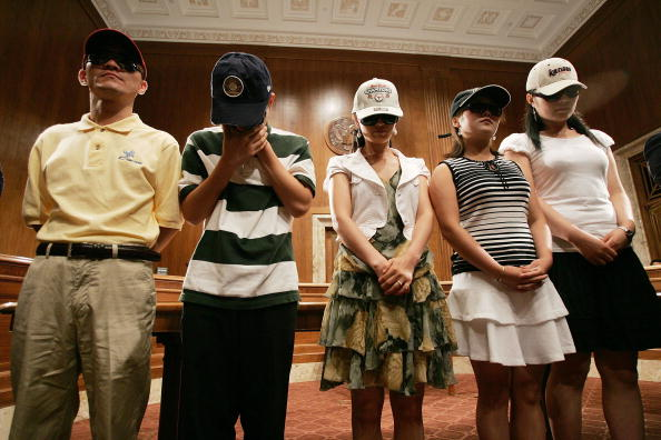 Win McNamee「Brownback Brings North Korean Refugees To Capitol Hill」:写真・画像(19)[壁紙.com]