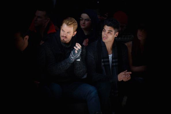 出席する「Black Sail By Nautica - Front Row -  Mercedes-Benz Fashion Week Fall 2014」:写真・画像(16)[壁紙.com]