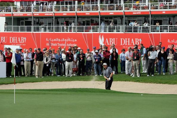 Sand Trap「Abu Dhabi Golf Championship - Day 1」:写真・画像(9)[壁紙.com]