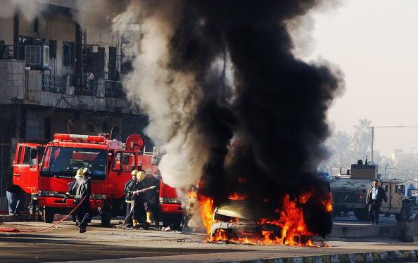 Baghdad「Roadside Bomb Attack Targets U.S. Convoy In Baghdad」:写真・画像(10)[壁紙.com]