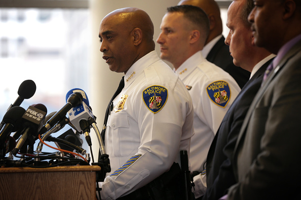 The Knife「Baltimore Police Department Representatives Provides Update On Investigation Into Death Of Freddie Gray」:写真・画像(9)[壁紙.com]