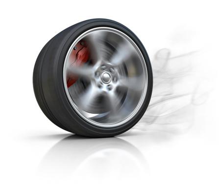 Motorsport「burning tire」:スマホ壁紙(12)