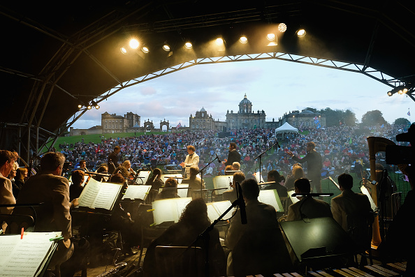 York - Yorkshire「The Annual Classical Proms Spectacular Concert Held At Castle Howard」:写真・画像(13)[壁紙.com]