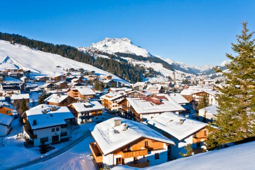 Chalet「Lech am Arlberg ski resort in Vorarlberg, Austria」:スマホ壁紙(19)