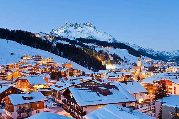 Lech am Arlberg ski resort,  Vorarlberg, Austria:スマホ壁紙(壁紙.com)