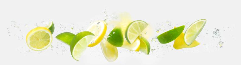 かんきつ類「Lemon and Lime」:スマホ壁紙(6)