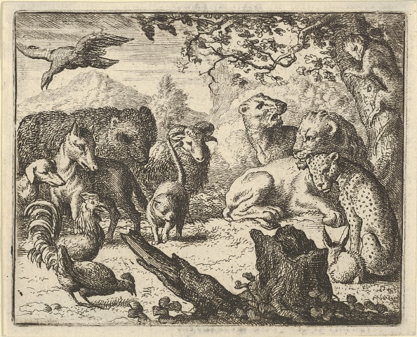 Durability「The Lion Announces A Durable Peace To The Animals Who Surround Him」:写真・画像(16)[壁紙.com]