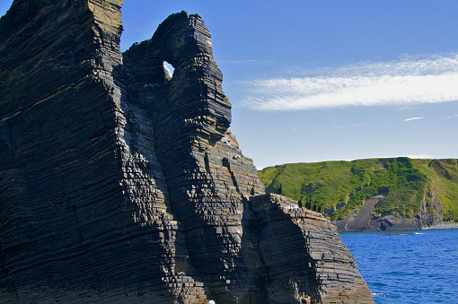 Basalt「Geology of Irish Atlantic Coast」:スマホ壁紙(4)