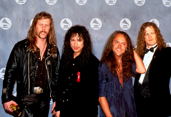 Receiving「Rock Band Metallica Receives Awards...」:写真・画像(19)[壁紙.com]