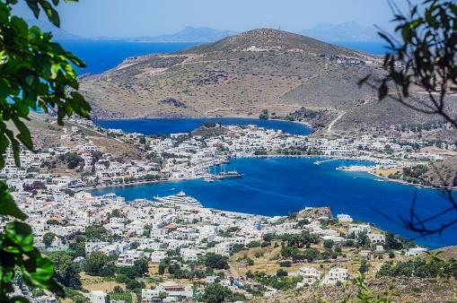 Patmos「Greece, Patmos, townscape」:スマホ壁紙(18)