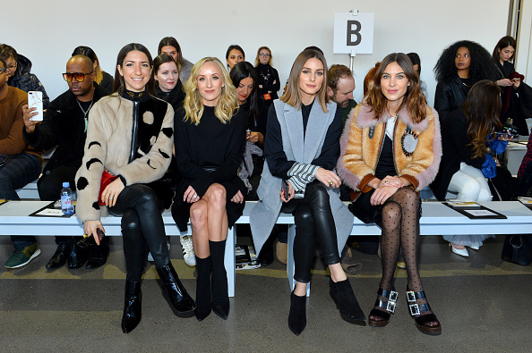 ニューヨークファッションウィーク「Noon By Noor - Front Row - February 2018 - New York Fashion Week: The Shows」:写真・画像(4)[壁紙.com]