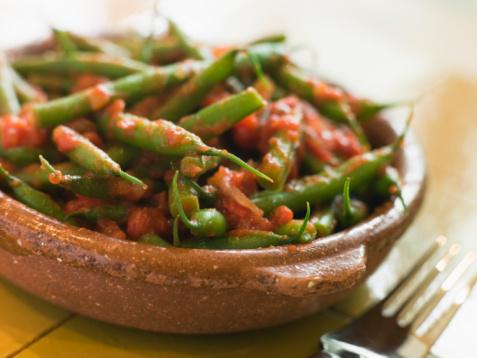 Bush Bean「Green Beans with a Tomato Salsa」:スマホ壁紙(9)