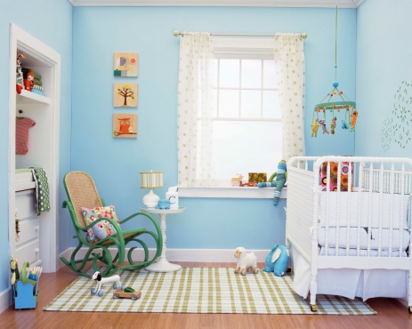 Rocking Chair「Nursery interior」:スマホ壁紙(4)