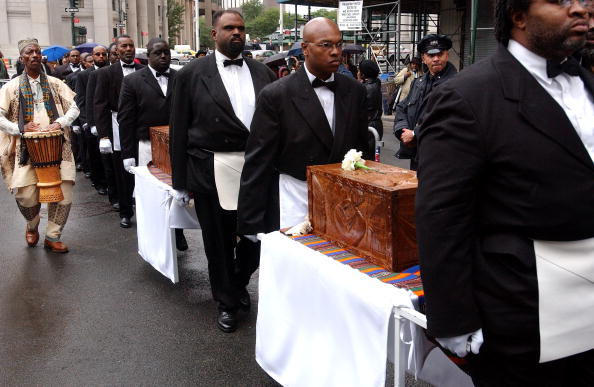 Place of Burial「African Slave Burial Ceremony In New York City」:写真・画像(5)[壁紙.com]