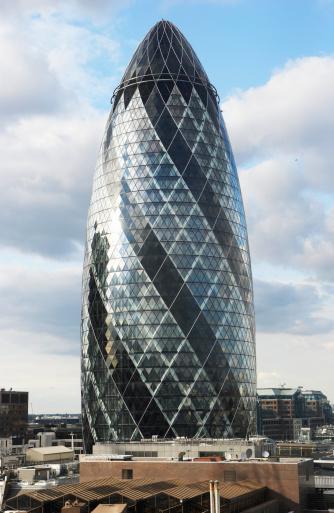 Sir Norman Foster Building「England, London, Sir Norman Foster Building」:スマホ壁紙(10)