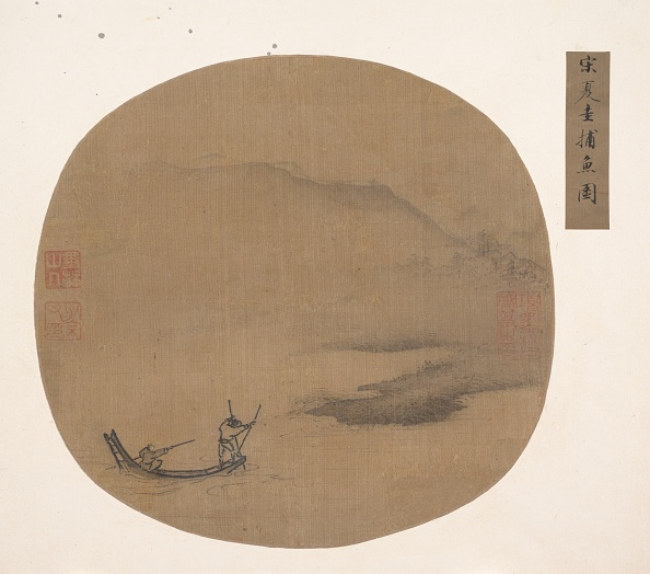 Physical Geography「River Landscape With Boatmen. Creator: Unknown.」:写真・画像(9)[壁紙.com]