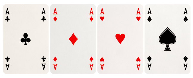 Work luck「four of a kind - Aces」:スマホ壁紙(0)
