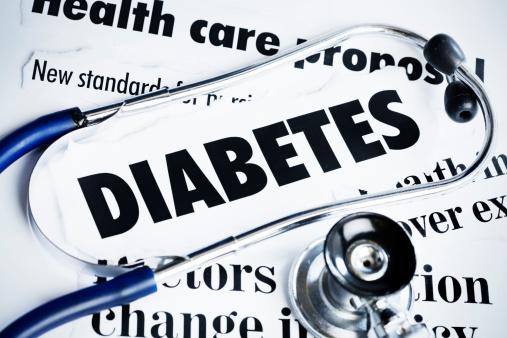 Diabetes「Stethoscope rests on headlines concerning diabetes」:スマホ壁紙(11)