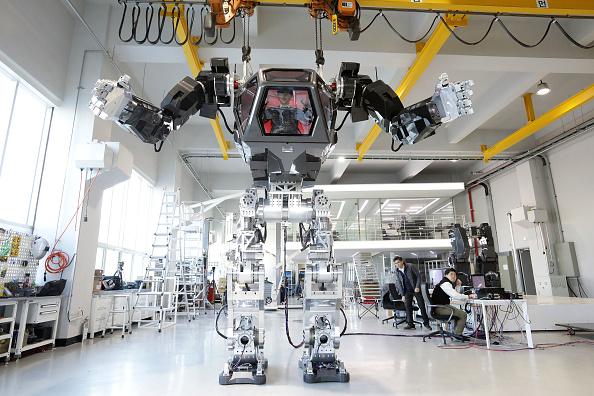 Robot Arm「South Korean Robot Company Builds A Manned Walking Robot」:写真・画像(6)[壁紙.com]