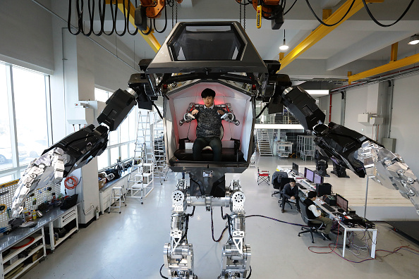 Industry「South Korean Robot Company Builds A Manned Walking Robot」:写真・画像(5)[壁紙.com]