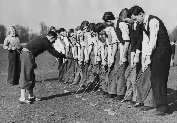 In A Row「Golf Lesson」:写真・画像(4)[壁紙.com]