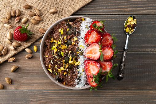 Oats - Food「Smoothie Bowl」:スマホ壁紙(11)