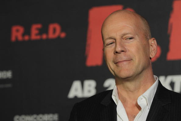 Completely Bald「Bruce Willis Photocall In Berlin」:写真・画像(11)[壁紙.com]