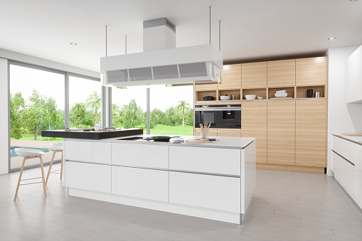Large「Luxury Modern Kitchen Interior」:スマホ壁紙(4)