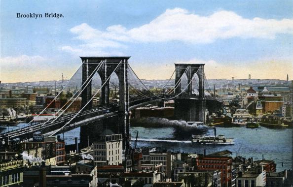 City Life「New York: Brooklyn Bridge」:写真・画像(19)[壁紙.com]