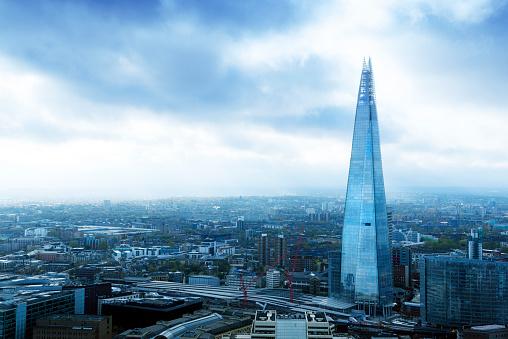 City Break「UK, London, cityscape with The Shard」:スマホ壁紙(18)