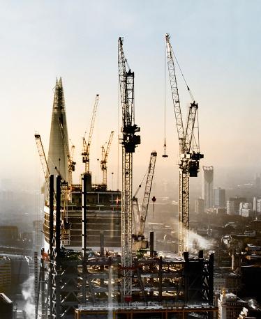 Crane - Construction Machinery「London City construction」:スマホ壁紙(17)