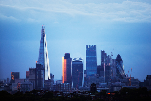 122 Leadenhall Street「London city skyline」:スマホ壁紙(16)