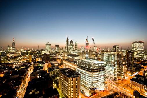 2013「London City night aerial looking West」:スマホ壁紙(16)