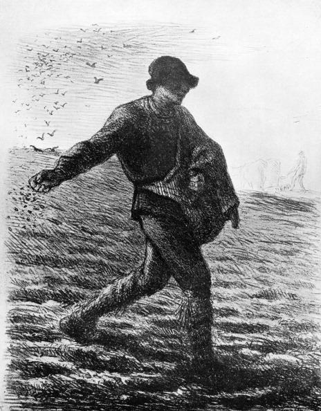 Jean Francois Millet「'Le Semeur', c1850, (1913).Artist: Jean Francois Millet」:写真・画像(18)[壁紙.com]
