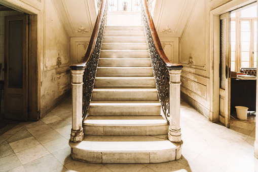 Wrought Iron「Marble Staircase of a Colonial Villa in Havana, Cuba」:スマホ壁紙(0)