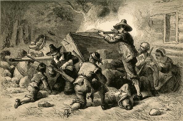 17th Century「Virginians Defending Themselves Against Indians」:写真・画像(3)[壁紙.com]