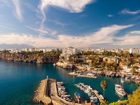 Antalya Province「Boats in the harbor antalya」:スマホ壁紙(12)