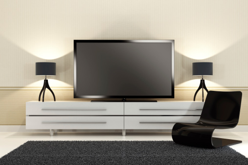 Liquid-Crystal Display「Luxury TV Room」:スマホ壁紙(9)