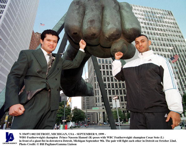 WBC「Detroit Michigan usaSeptember 9 1999 Wbo Featherweight Champion Prince Naseem Hamed (R) Pose」:写真・画像(16)[壁紙.com]