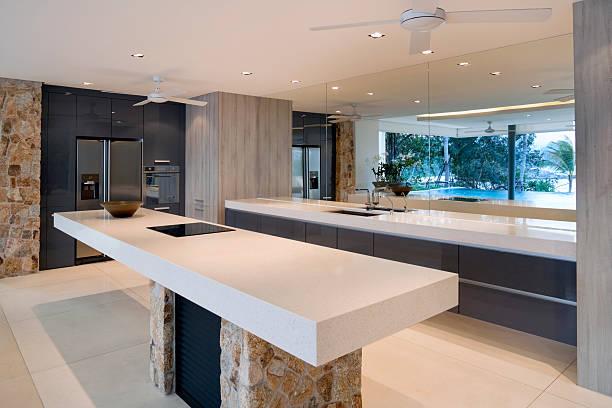 Modern Villa Kitchen:スマホ壁紙(壁紙.com)