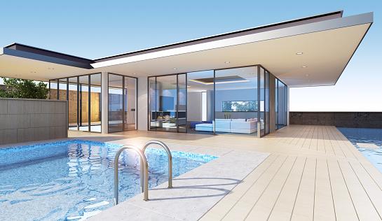 Resort「Modern Villa」:スマホ壁紙(7)