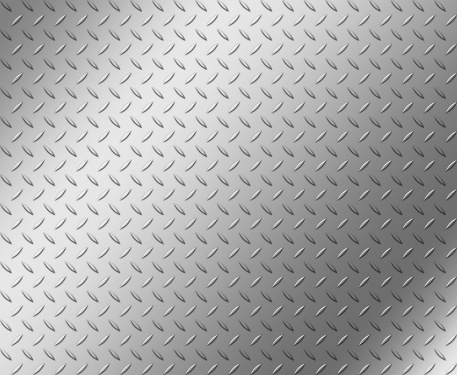 Iron - Metal「Diamond shape steel plate texture with copy space」:スマホ壁紙(15)