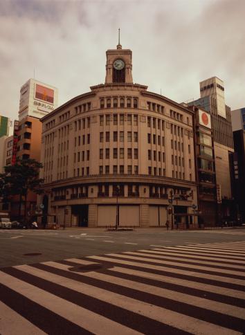 Ginza「Intersection in Ginza」:スマホ壁紙(3)