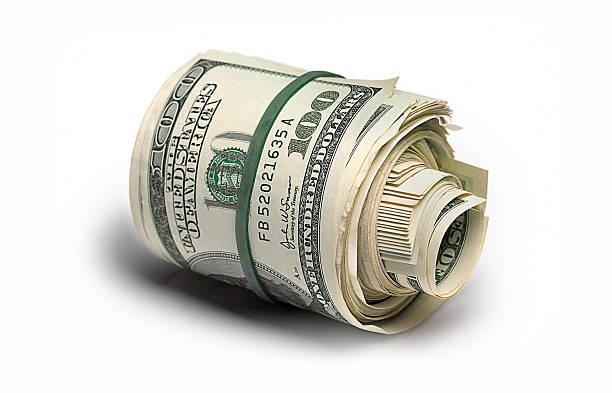 Dollar bank roll:スマホ壁紙(壁紙.com)
